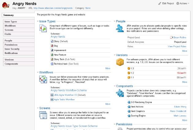Interfaz de Administración Simplificada de Proyectos en JIRA