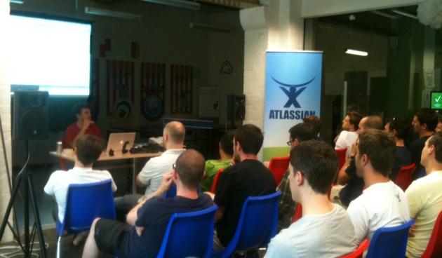 Reunión Informal sobre Git en las oficinas de Atlassian