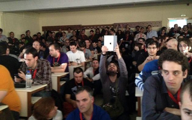 Público en la charla de David Bonilla en Codemotion