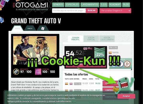 Cookie Kun de otogami
