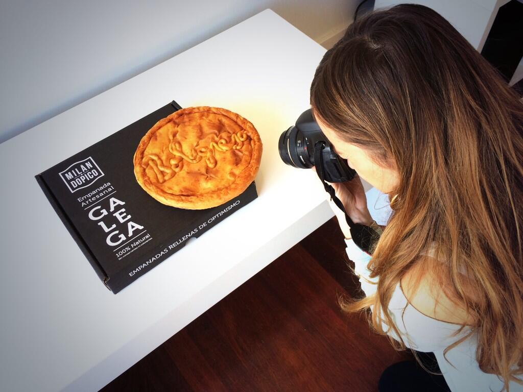 Sesion de fotos a la empanada boloñesa