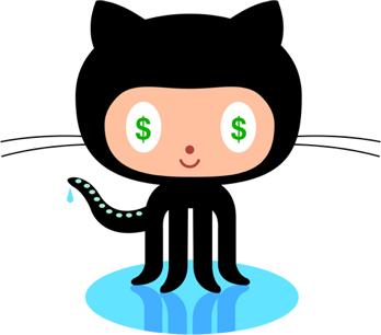 Github Money Octocat