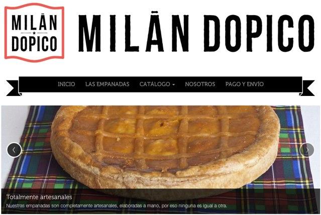 Tienda web de Milán Dopico