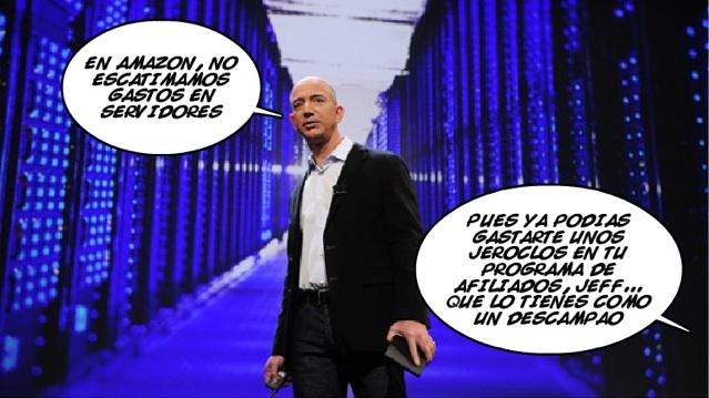 Jeff Bezos, jefazo de Amazon